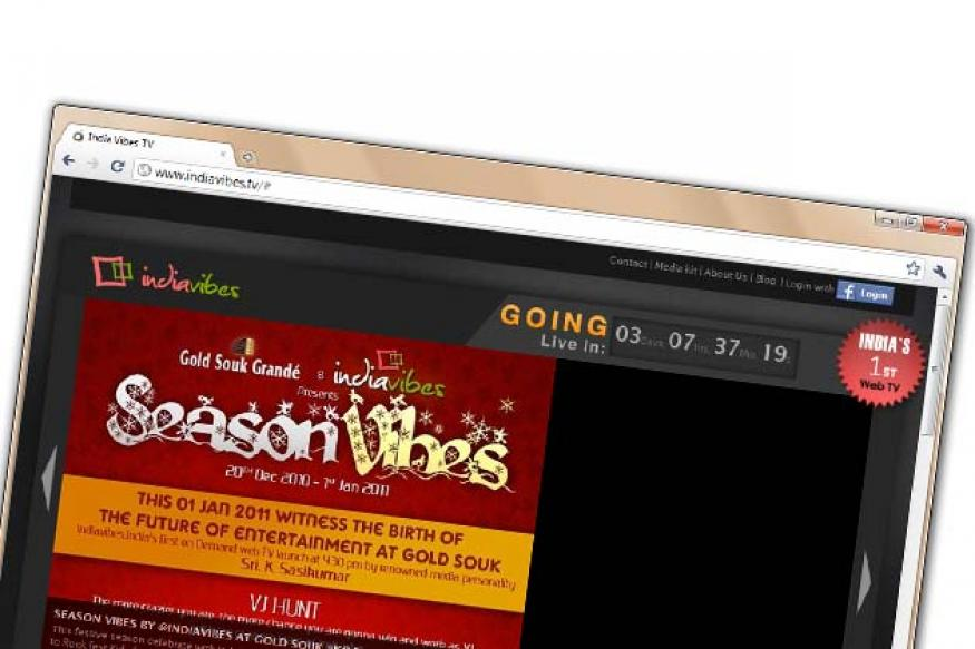 India's first Web TV to launch on Jan 1