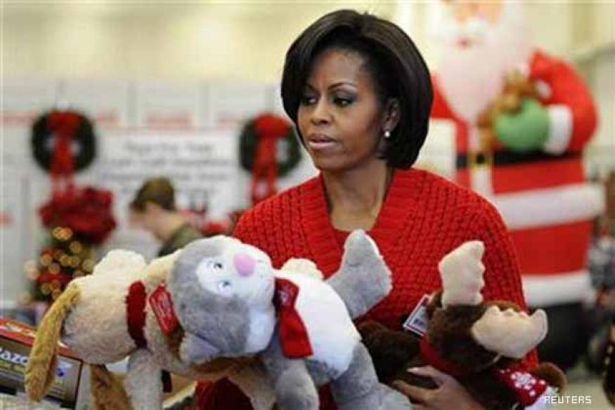 Kids get Michelle Obama's surprise