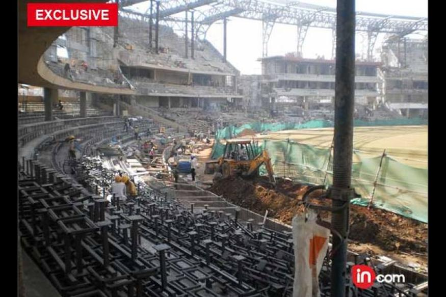 Wankhede far from ready for the ICC World Cup