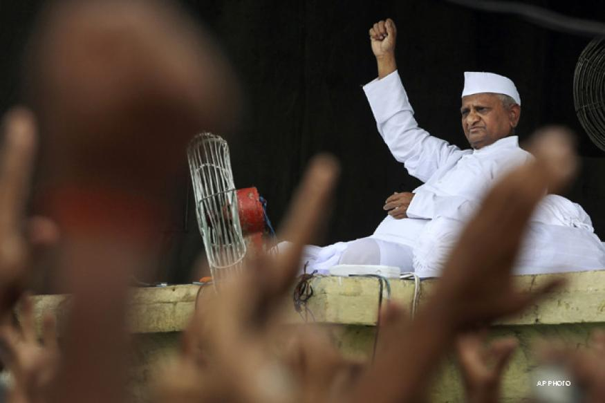 Anna Hazare's condition improving, say doctors