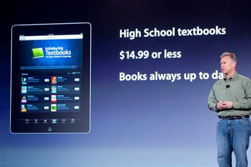 Apple unveils digital textbook service iBooks 2
