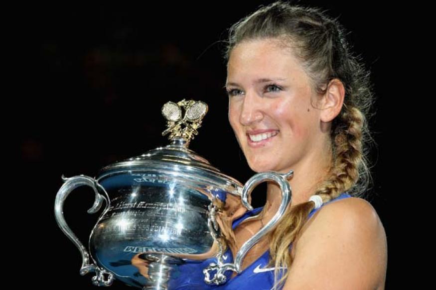 Azarenka thumps Sharapova to win Australian Open