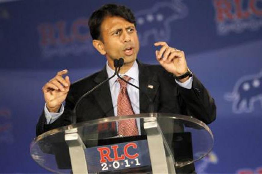 Jindal takes oath for 2nd term as Louisiana Guv