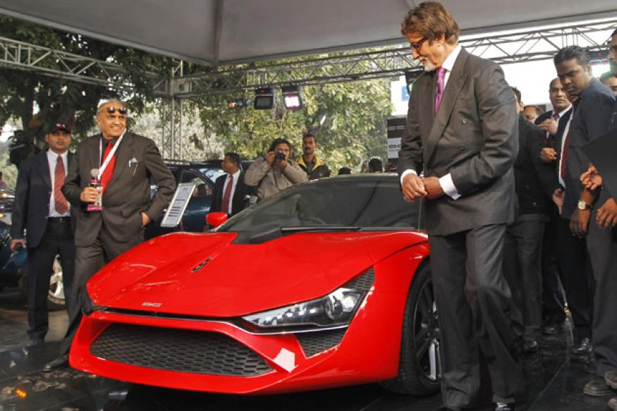 Bollywood adds glamour to the 11th Auto Expo