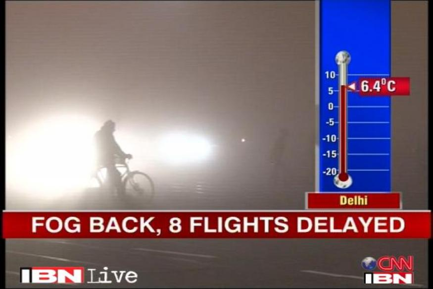 Delhi: Dense fog delays 40 flights, 35 trains