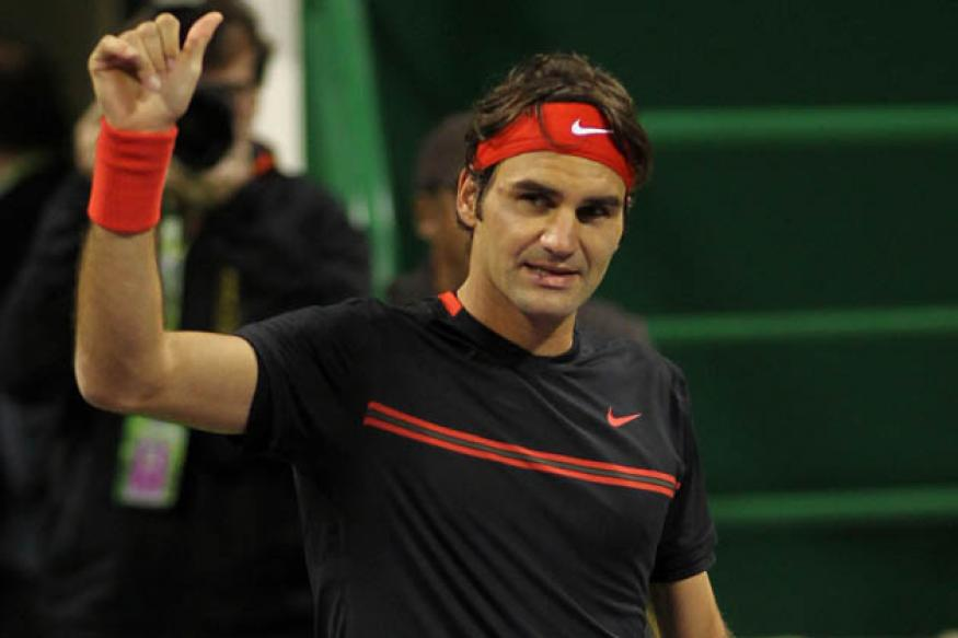Nadal, Federer enter SFs of Qatar Open