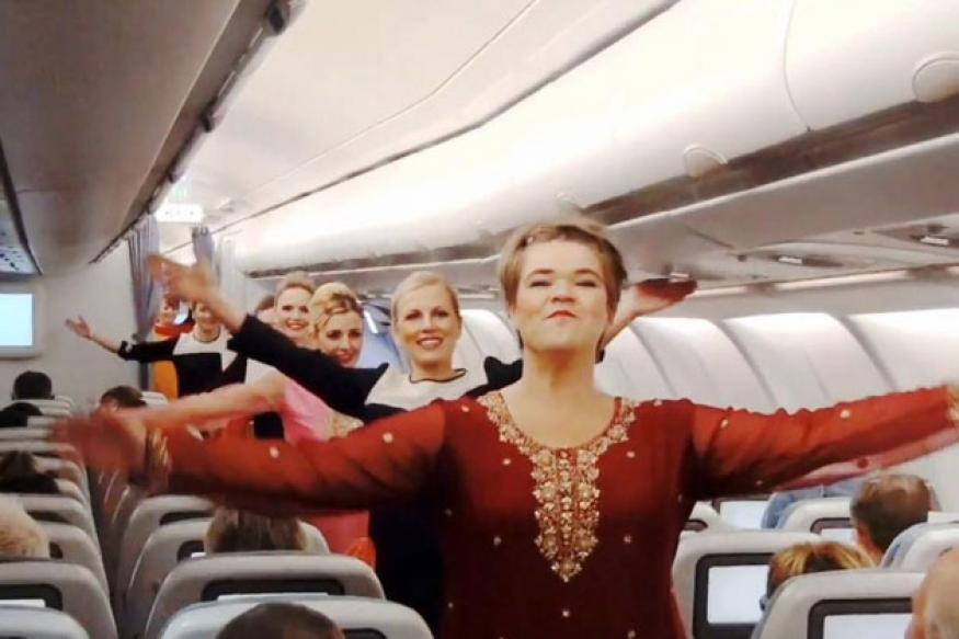 Watch: Finnair crew dance to 'Om Shanti Om'