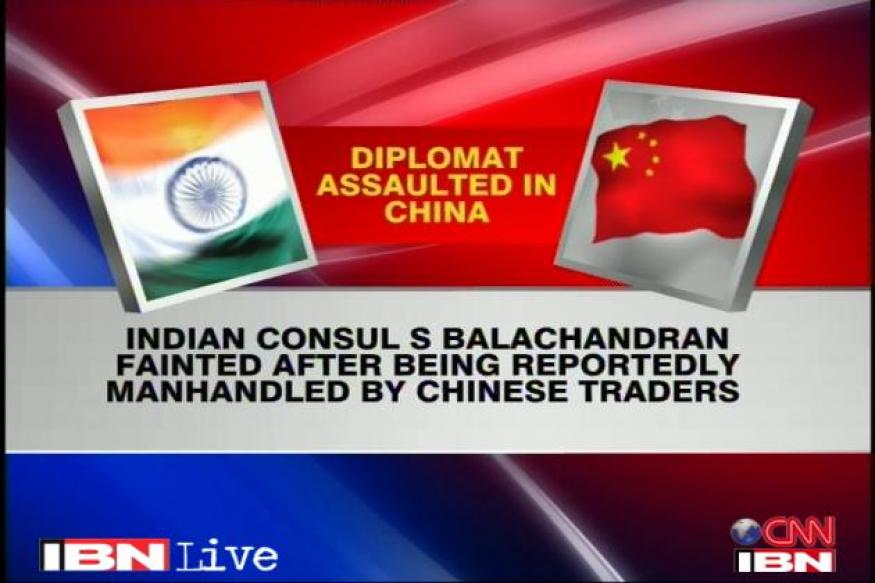Diplomat attack: India to take it up with China