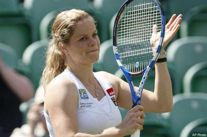 Clijsters in semis at Brisbane International