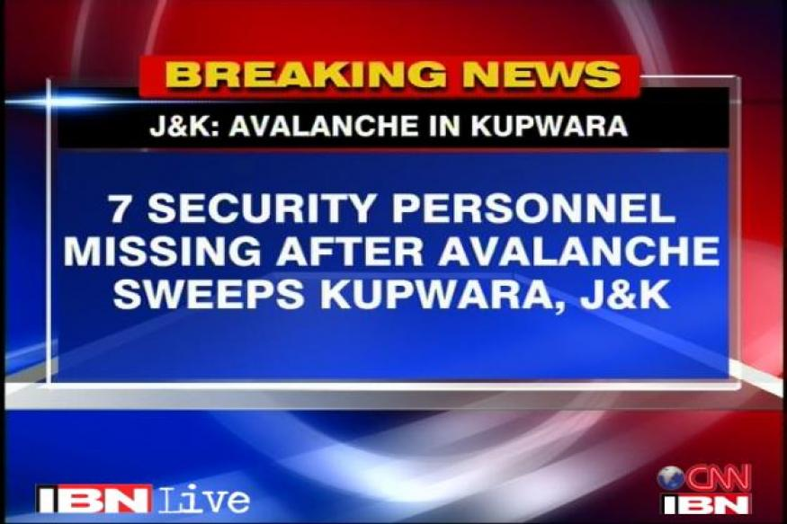Kupwara: Search on for missing security personnel