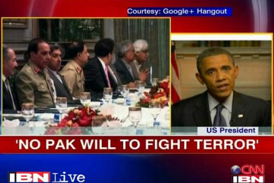Pakistan lacks the will to fight terror: Obama