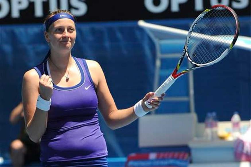 Kvitova through to Australian Open semis