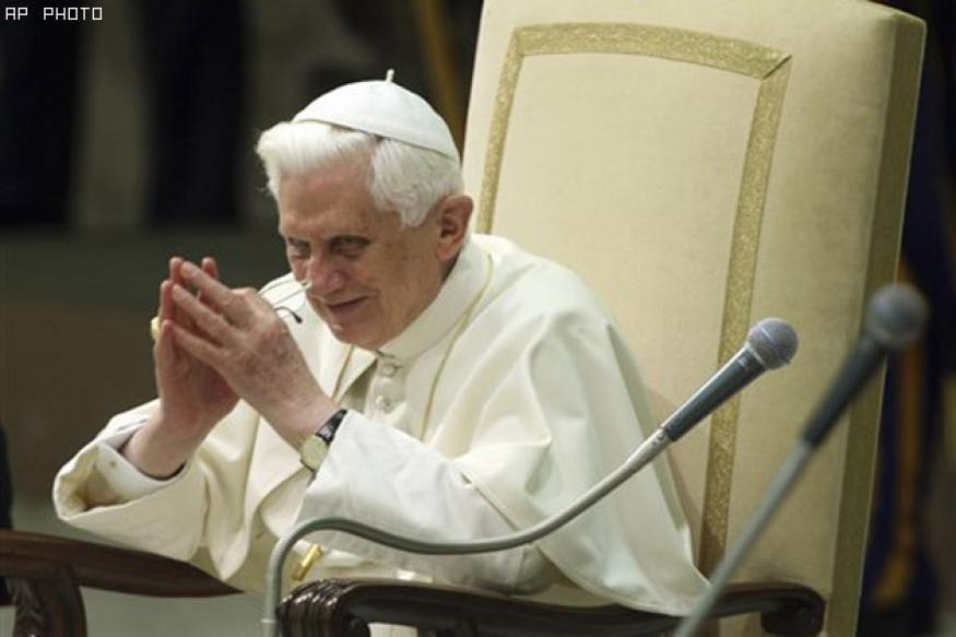 Pope: We await 2012 with trepidation