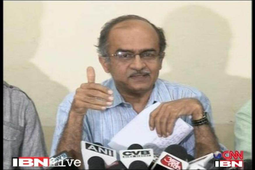 2G: SC notice to DoT, CBI, ED on Bhushan's plea
