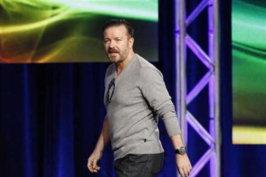 Gervais keeps Golden Globe targets under wraps