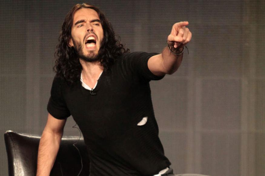 Russell Brand to star in 'The Hauntrepreneur'