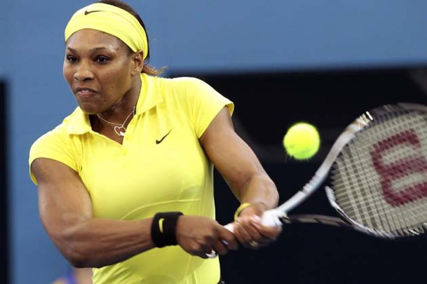 Serena wins first match back after lay-off