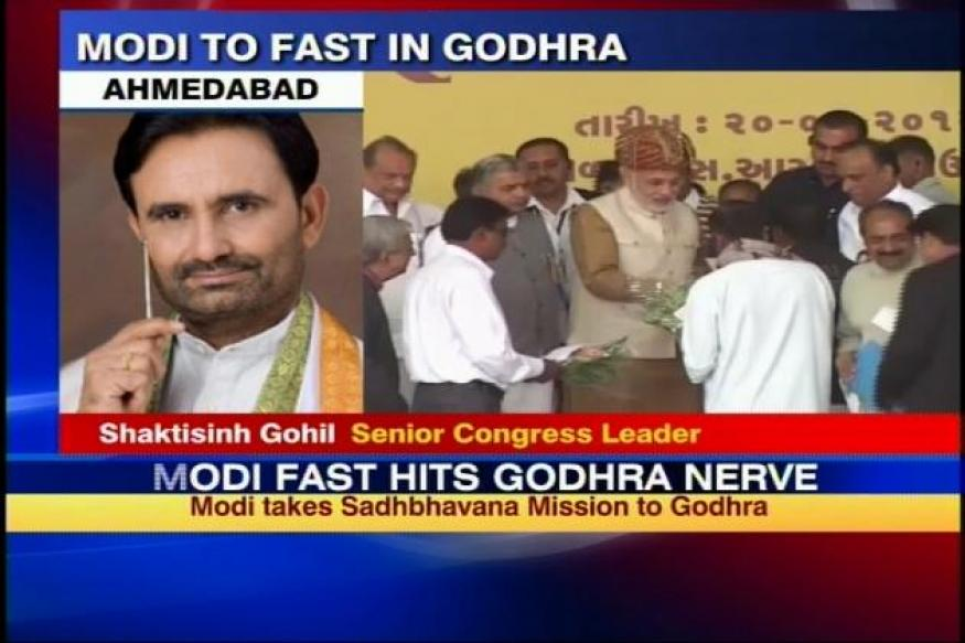 Modi's fast is a political drama: Congress