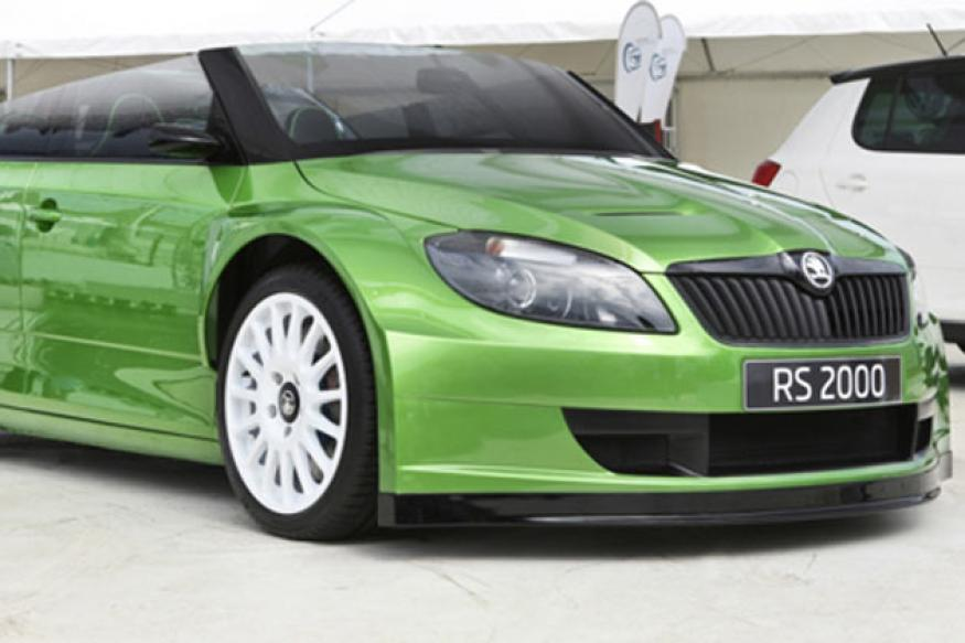 Auto Expo 2012: Skoda displays the RS 2000