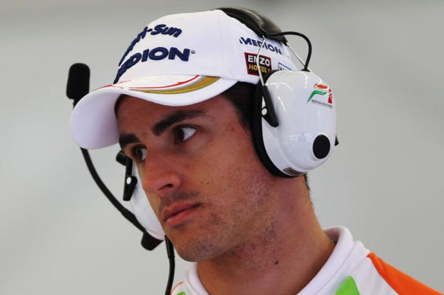 Sutil appeals against sentence for Shanghai brawl
