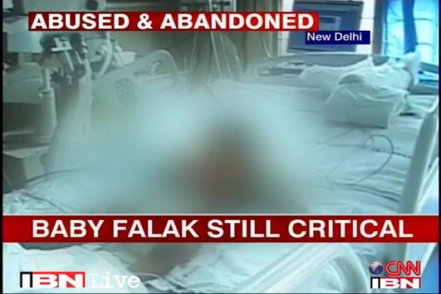 Baby Falak still critical; next 48 hours crucial