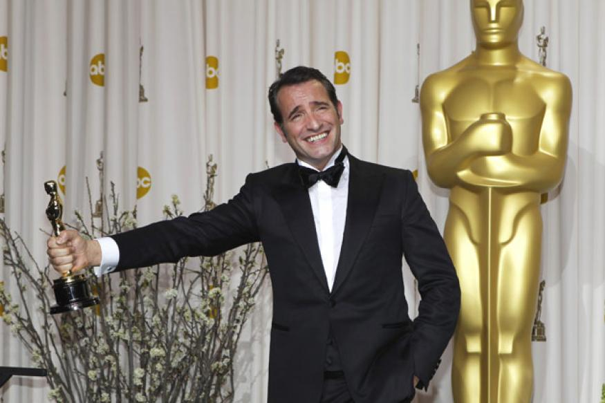Oscars: Best actor Dujardin's onstage speech