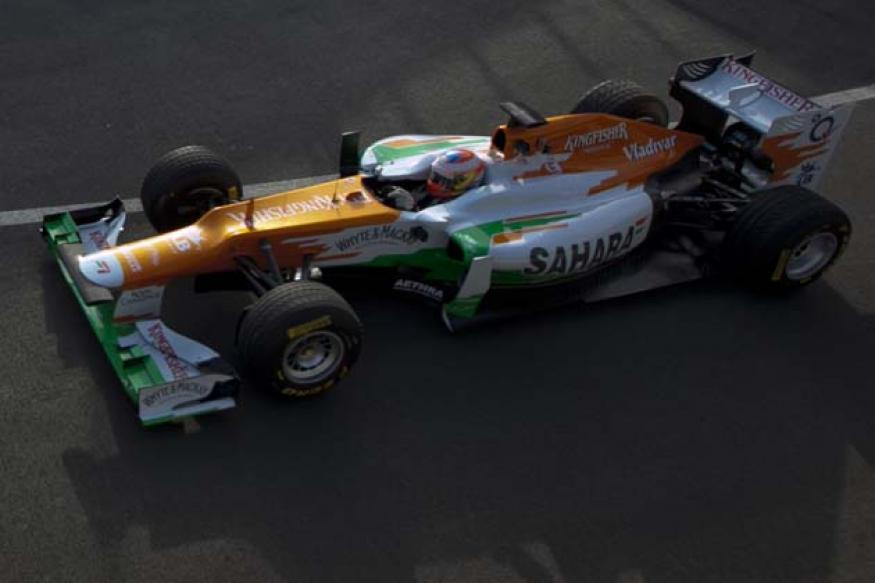 Bianchi mistake costs Force India in Jerez