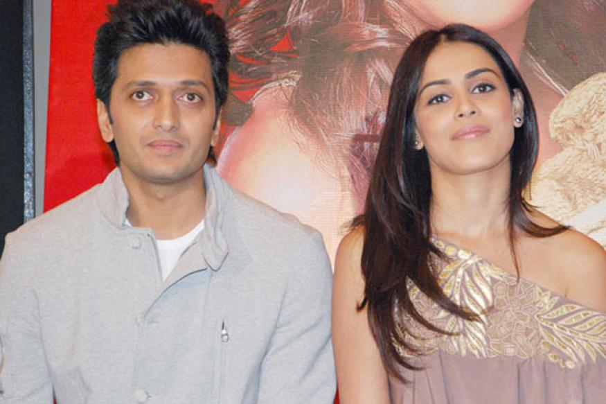 Salman gifts honeymoon package to Riteish, Genelia