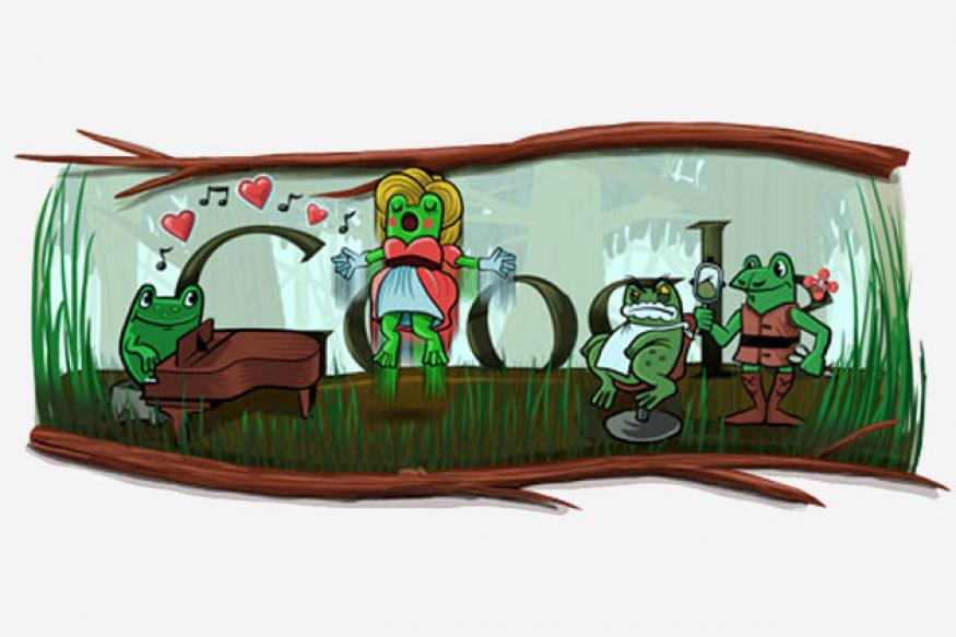 Google's leap day, Gioachino Rossini b'day doodle