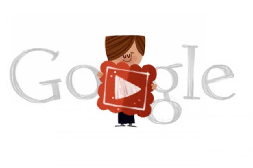 Valentine's Day: Google doodles a love song
