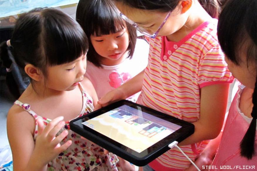 Forget dolls and footballs, kids prefer tablets