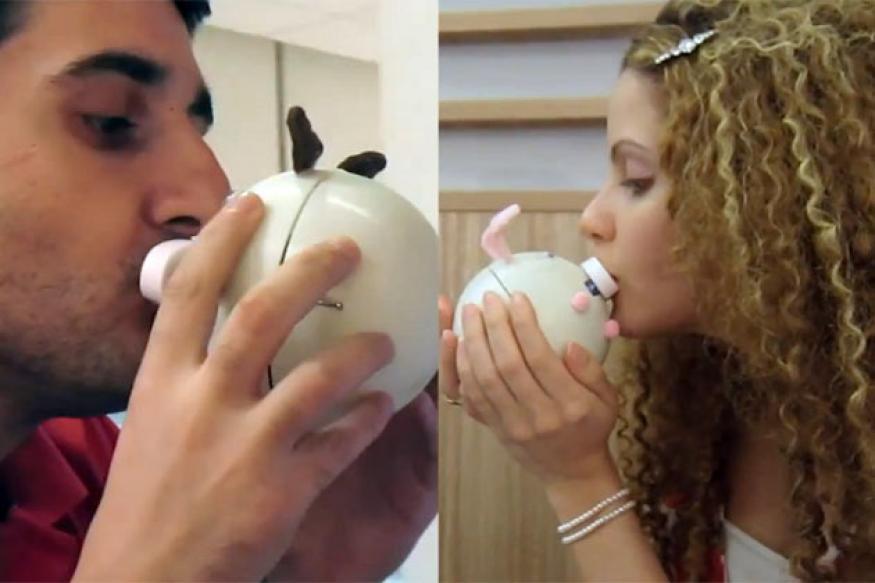 Kissenger: A long distance kissing solution