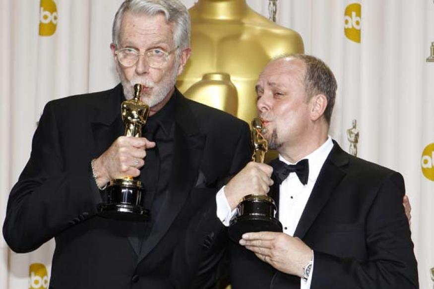 Oscars: Helland's onstage speech for 'Iron Lady'