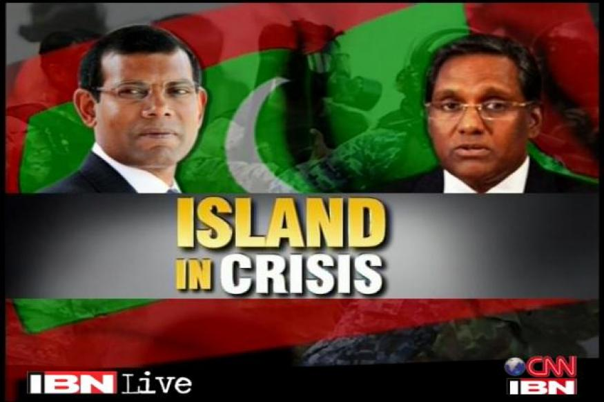 Maldives crisis: Nasheed upset with India, US