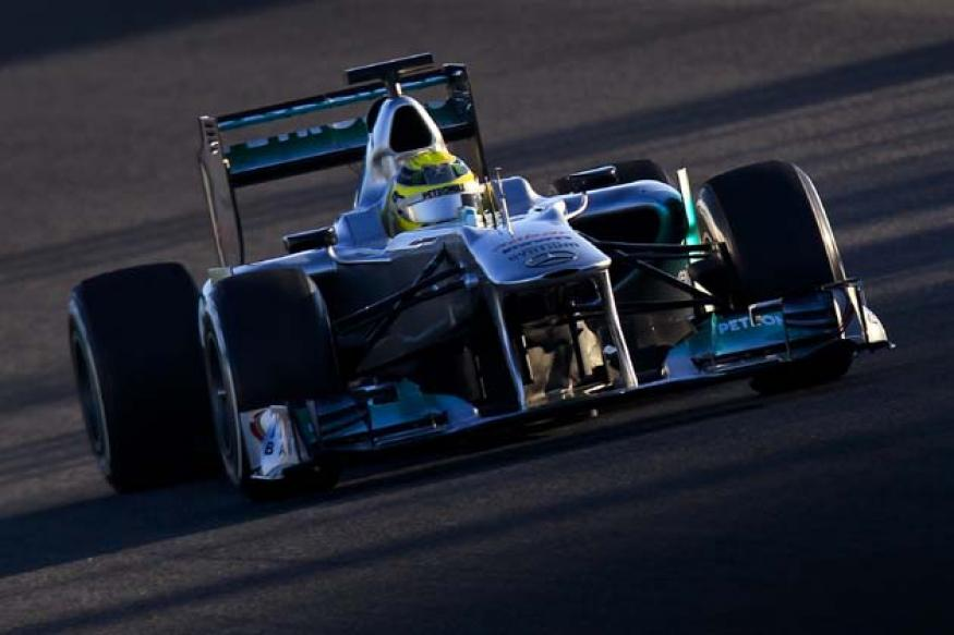 Mercedes top Jerez test, Lotus fastest 2012 car