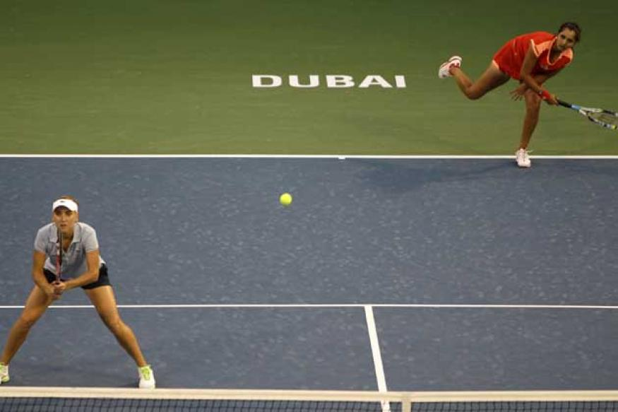 Sania-Elena blown away in Dubai final