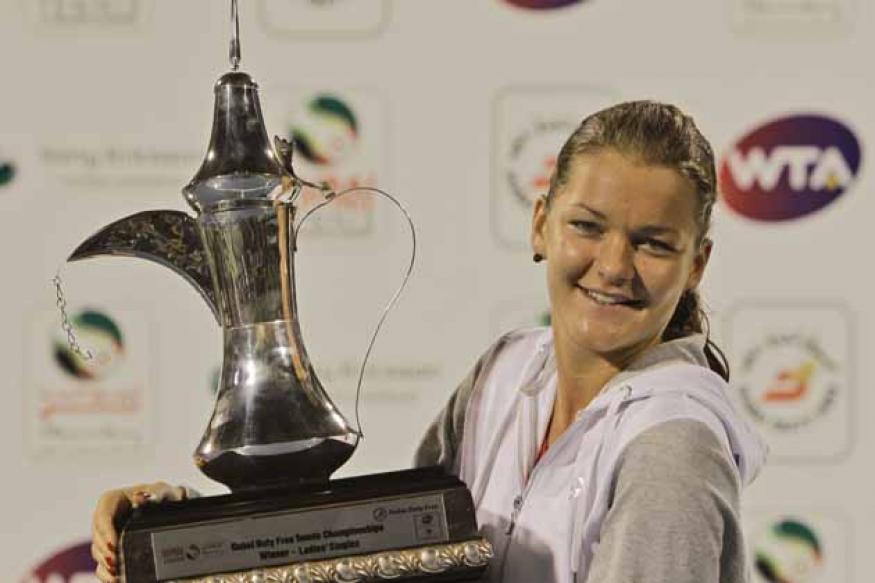 Agnieszka Radwanska wins Dubai title