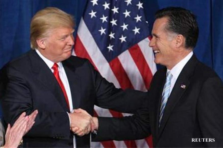 US: Romney plays Trump card in Las Vegas