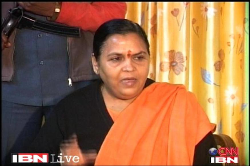 Better to drown than to tie up with SP, BSP: Uma