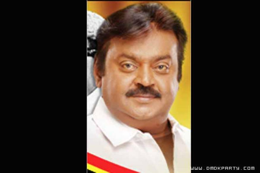 Vijaykanth suspended from Tamil Nadu Assembly
