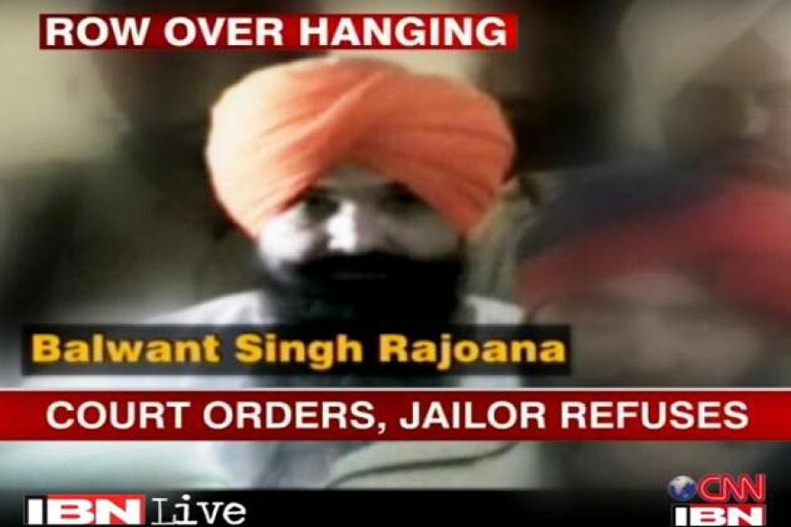 Beant Singh killing: Rajoana's hanging stayed