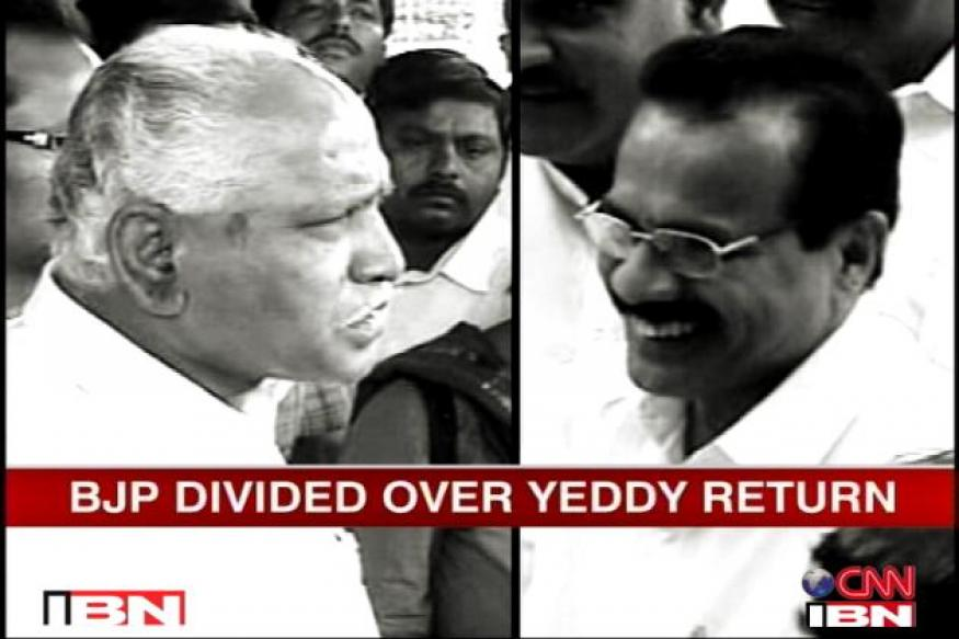 BSY in Delhi, ups the ante; BJP summons Gowda
