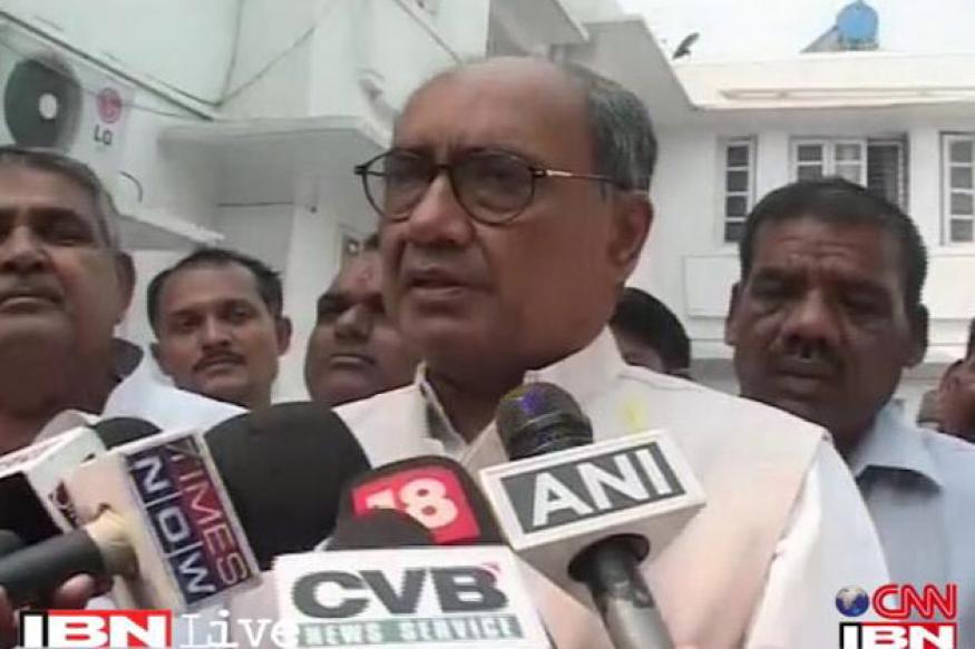 Porngate exposed real face of BJP: Digvijaya