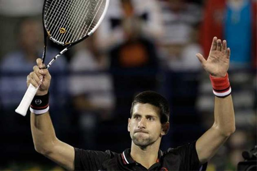 Djokovic sets up SF with Murray in Dubai