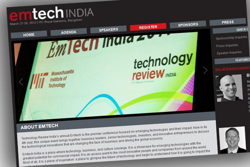 20 Indian geeks to flag innovations at EmTech