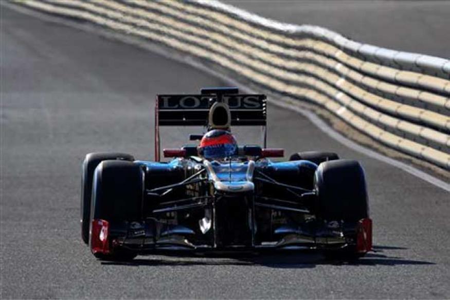Grosjean fastest in Barcelona testing