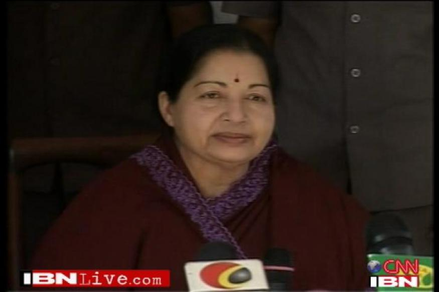 India must support US stand on Lanka: Jaya