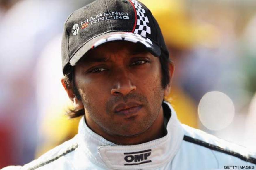 Karthikeyan tests out HRT F112