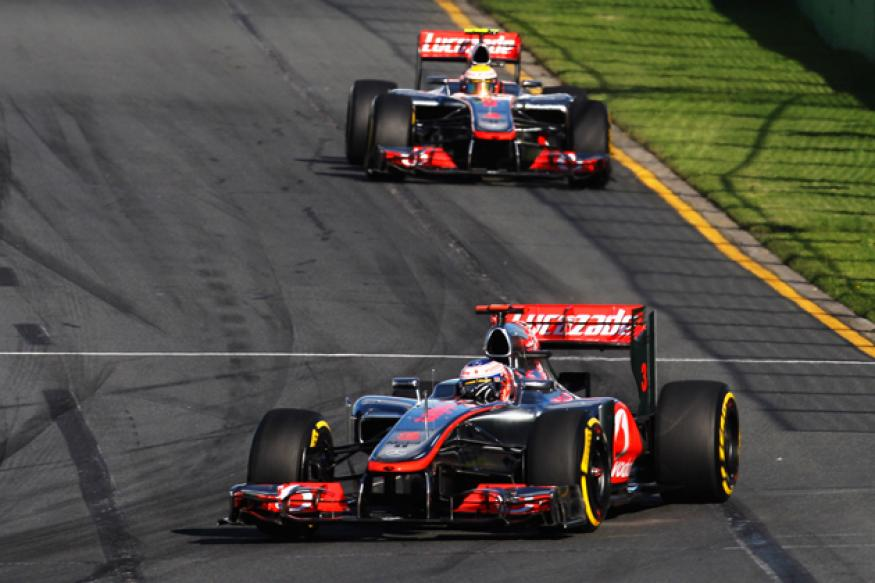 Button wins Australian GP ahead of Vettel