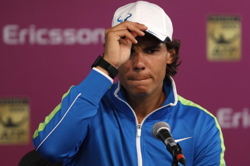 Nadal withdraws at Key Biscayne with knee injury